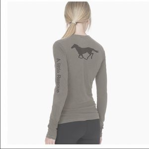 James Perse a little rescue long sleeve tee
